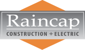Raincap Construction Logo